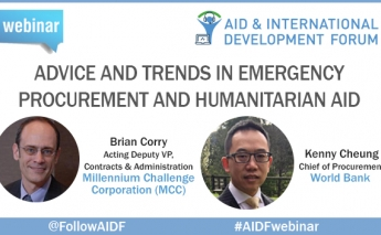 Advice & Trends in Emergency Procurement & Humanitarian Aid