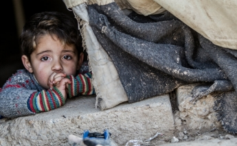 Syria's offensive has prevented 55,000 children from receiving assistance