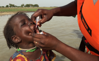 How close is Africa to eradicating polio?